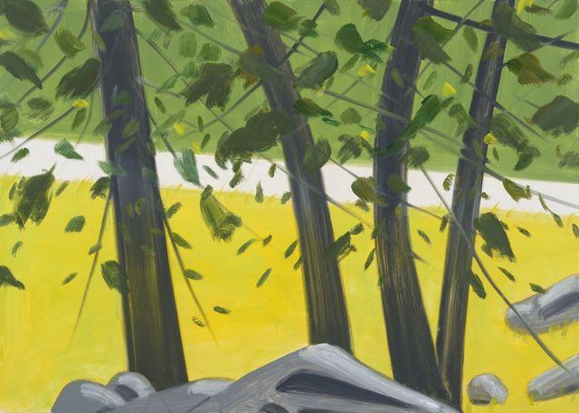 , 'Four Trees 1,' 2015, Galerie Thaddaeus Ropac