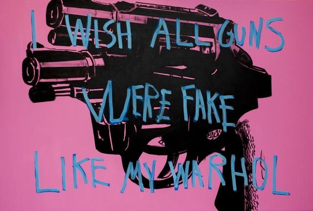 , 'No Guns,' 2018, One Arts Club