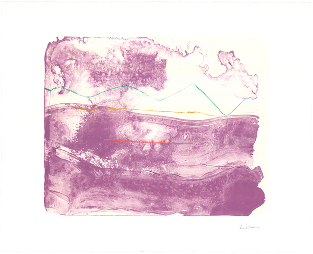 Helen Frankenthaler, 'Lilac Sweep', 2006, Universal Limited Art Editions