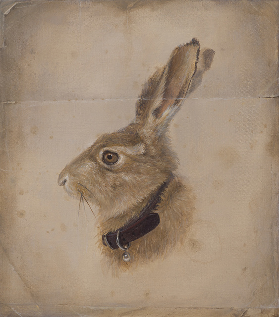 , 'Hare with Collar,' 2016, The Scottish Gallery