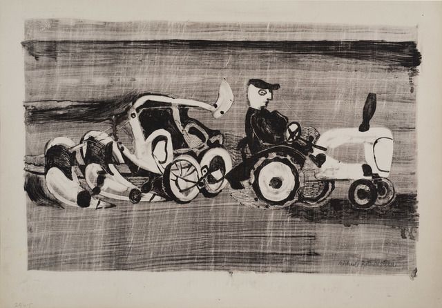 , 'Ploughing,' ca. 1948, Osborne Samuel