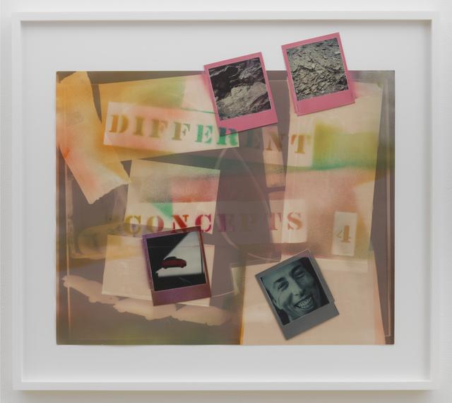 , 'Different Concepts 4,' 1979, Derek Eller Gallery