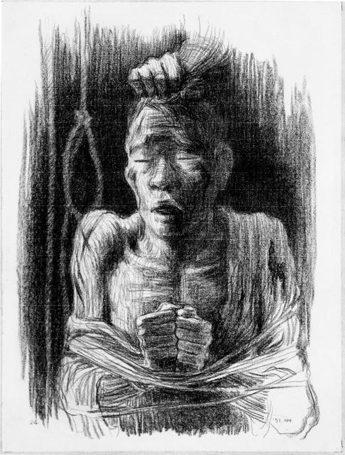 , 'Torture,' 1991, Hakgojae Gallery