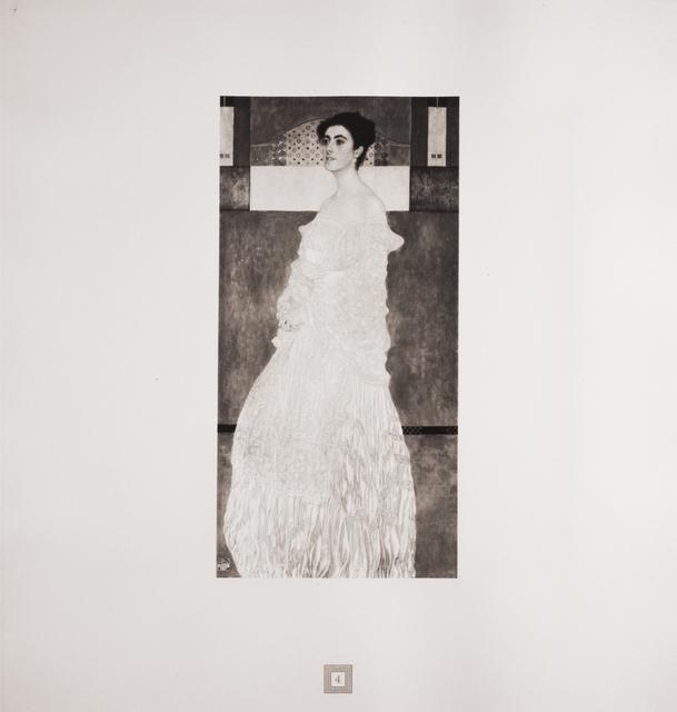 Gustav Klimt, 'Portrait of Baroness Wittgenstein [Gustav Klimt An Aftermath]', 1931, Jason Jacques Gallery