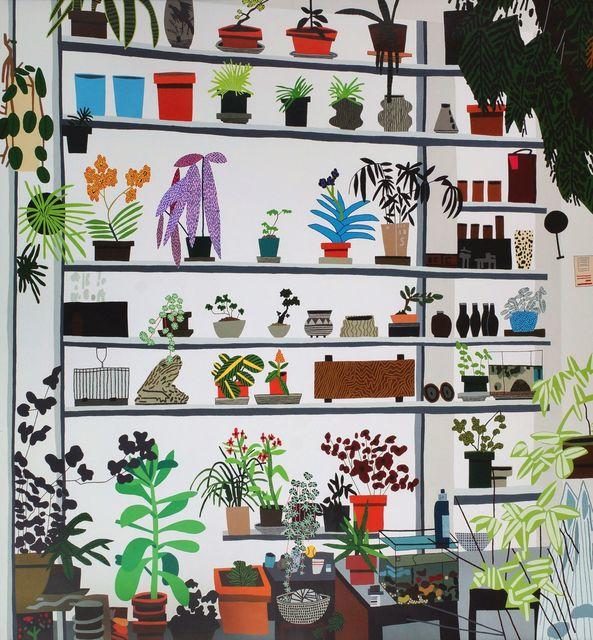 Jonas Wood, 'Large Shelf Still Life,', 2017, Roseberys