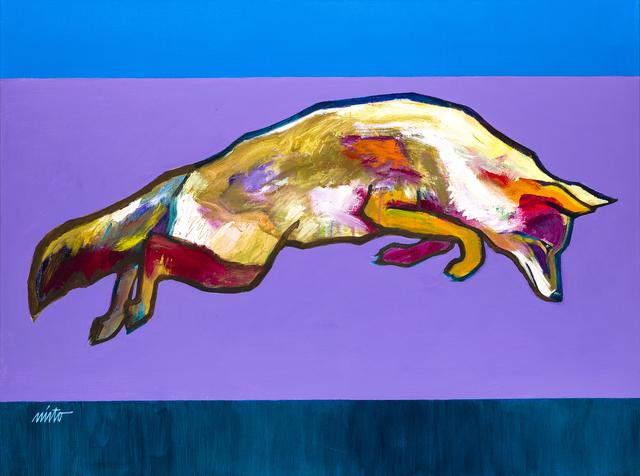 , 'Leaping Coyote,' 2015, Ventana Fine Art