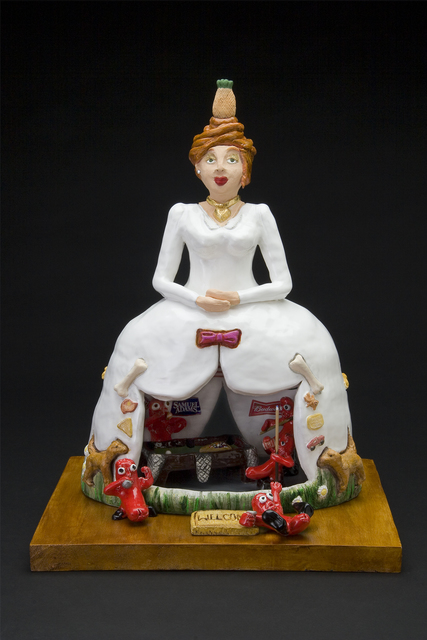, 'Sausage Party Bride,' 2010, Freight + Volume