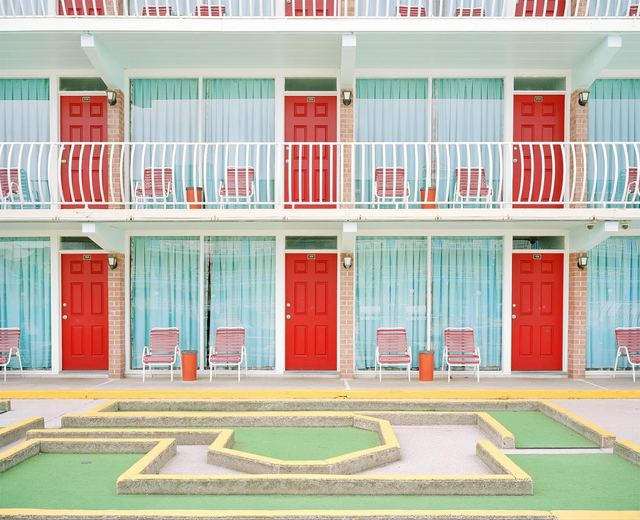 , 'Gold Crest Resort Motel,' 2016, Sears-Peyton Gallery