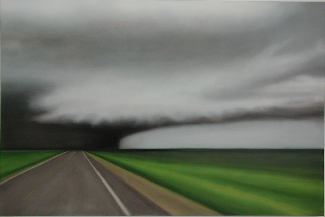 MB Boissonnault, 'Storm Road ', 2005, Painting, Oil on synthetic canvas, Wallspace