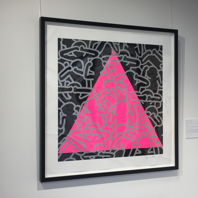 Keith Haring, 'Silence Equals Death', 1989, Joseph Fine Art LONDON