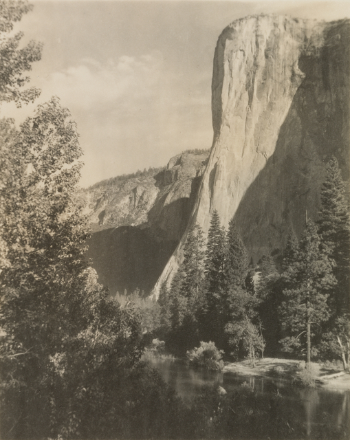 Ansel Adams, 'El Capitan, from the portfolio Parmelian Prints of the High Sierras', ca. 1923, San Francisco Museum of Modern Art (SFMOMA)