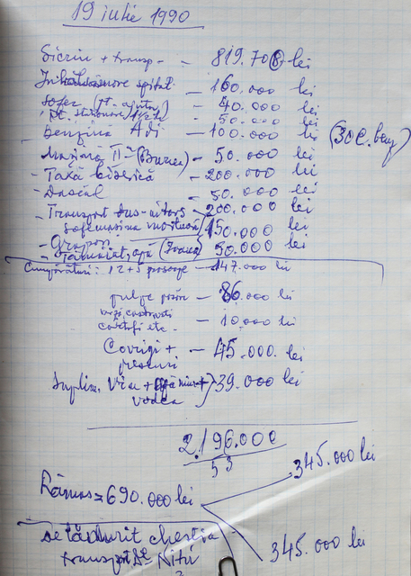 , 'Expenses Notebook page 203,' , Art Encounters Foundation