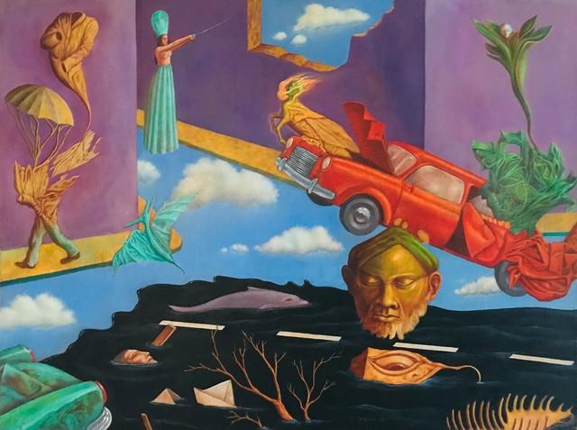 , 'La ciudad derrotada,' 1998, Biaggi & Faure Fine Art