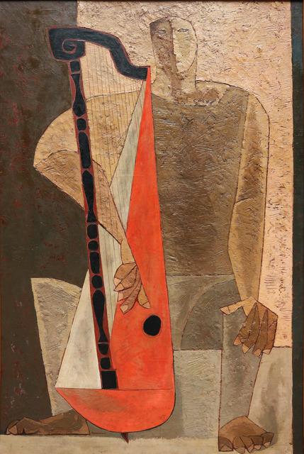 , 'The Harpist,' 1967, Galeria El Museo