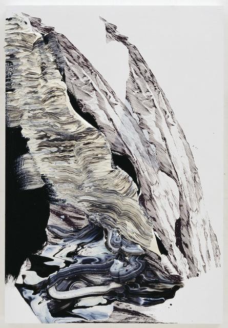 , 'fahnenbild e3,' 2012, Talley Dunn Gallery