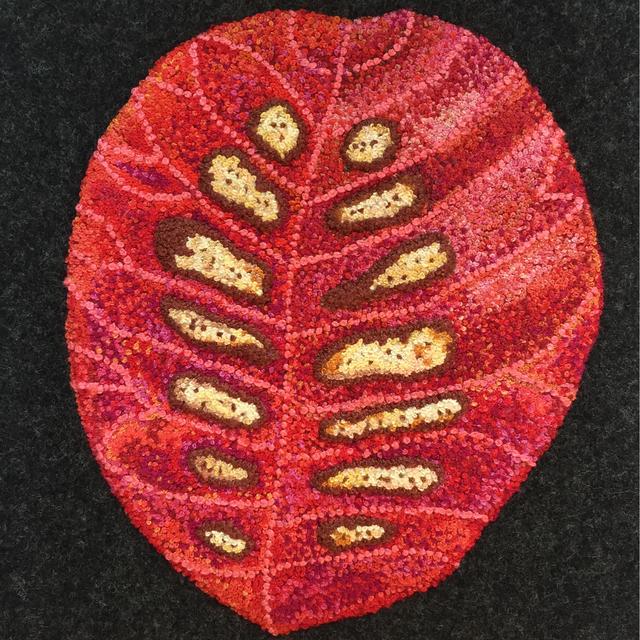 , 'Red Leaf,' 2015, InLiquid