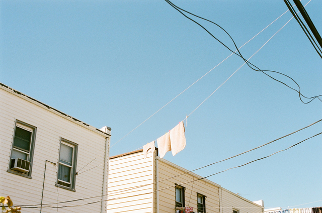 , 'Untitled (Laundry and Telephone Wires),' 2013, Cob