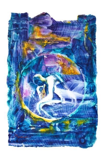 , 'Le Penseur (Hommage à Rodin),' 2017, Emillions Art