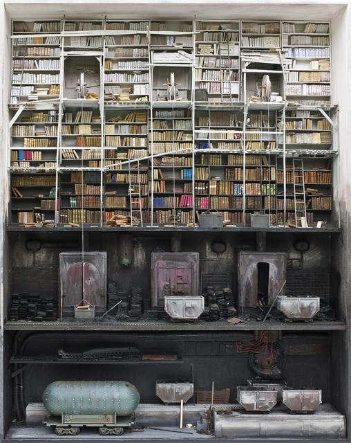 , 'Boîte des Barbares,' 2014, Jonathan LeVine Projects