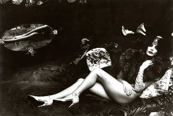 Irina Ionesco, 'Female Nude with Fur and Mirror Reflection', 1970s, Contemporary Works/Vintage Works