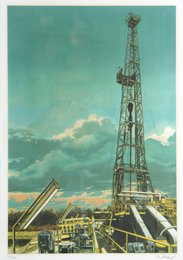 Tom Blackwell, 'Oil Well,' 1981, Heritage Auctions: Holiday Prints & Multiples Sale