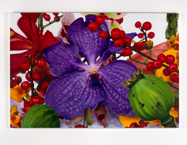 Marc Quinn, 'Sarasvati River Delta', 2009, Painting, Oil on canvas, Artsy x Rago/Wright