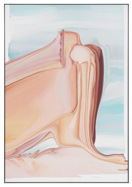 Asger Carlsen, 'BLISTERCARD, Anette', 2018, Print, Fine art print on silk in aluminium frame, V1 Gallery