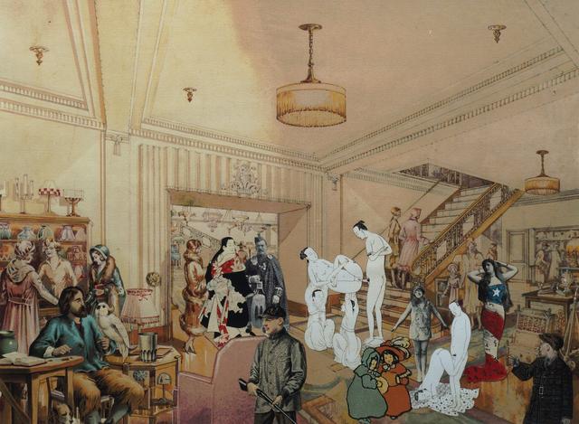 Peter Blake, 'Demonstrations in a Department Store I', 1998, Roseberys