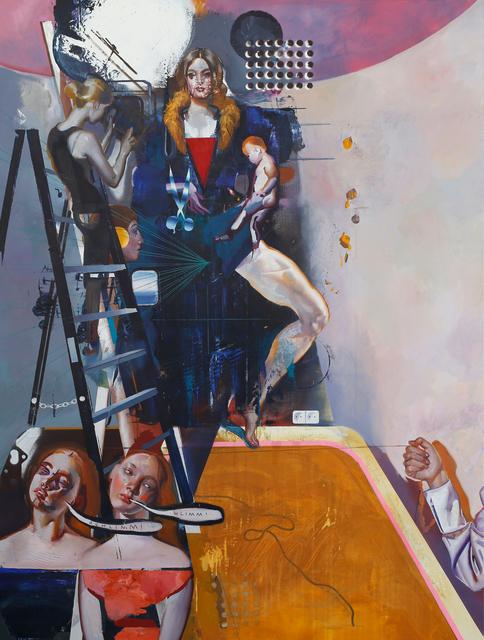 , 'Marieenstudio (Schlimm, Schlimm),' 2019, Josef Filipp Galerie