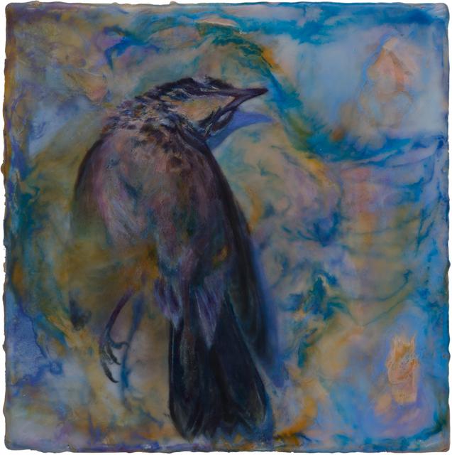 Noel Grunwaldt, 'Robin', 2018, Painting, Encaustic and inkjet on panel, Harper's