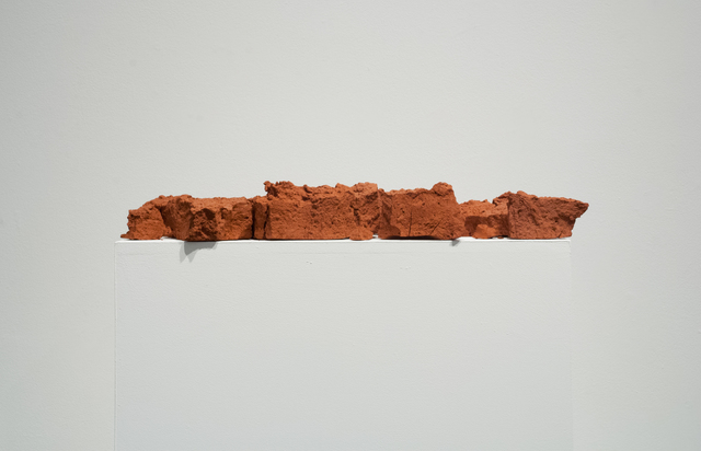 , 'Fired hand dug clay from South West Arkansas,' 2015, Fort Worth Contemporary Arts