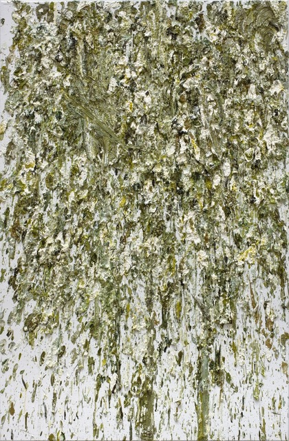Dan Colen, 'Study in Green for 53rd and 3rd', 2008, Gagosian