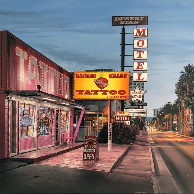 , 'Desert Star Motel,' 2019, Louis K. Meisel Gallery