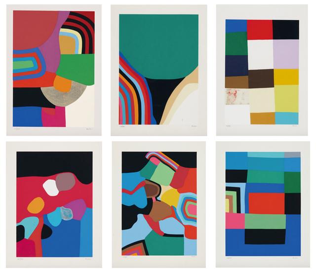 , 'Untitled (Calvesi 45-50),' 1973-1976, Upsilon Gallery