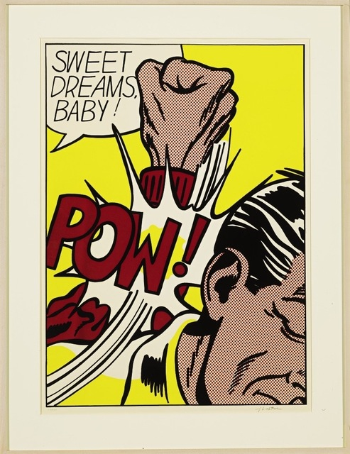 Roy Lichtenstein, 'Sweet Dreams Baby!', 1965, Print, Screenprint on heavy, smooth, white wove paper, Fine Art Mia