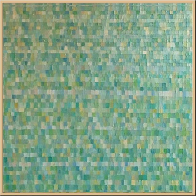 , 'Blue Pond,' 2017, Rice Polak Gallery
