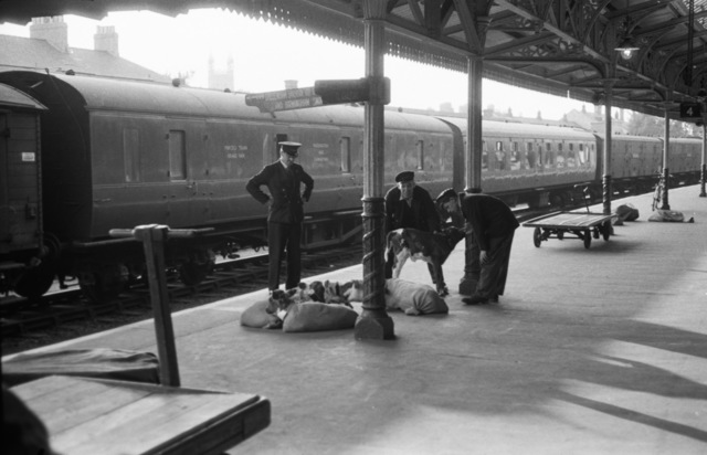 , 'Gloucester Railway Station,' ca. 1954, Osborne Samuel