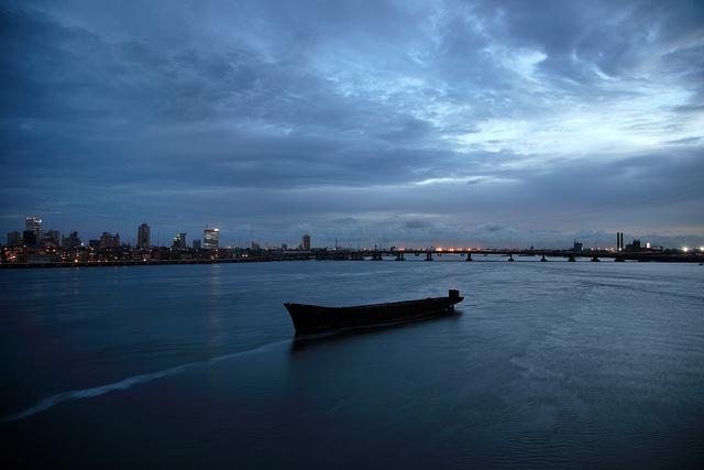 , 'Lagos Lagoon (2007),' 2007, TAFETA
