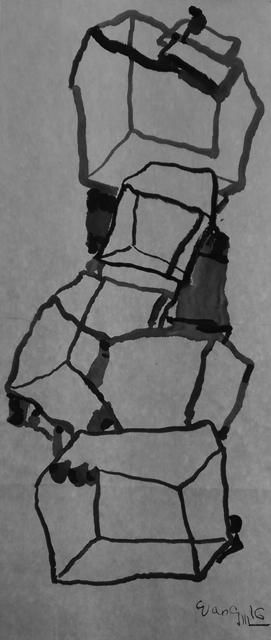 , 'Cubes No. 1,' 2016, Galerie du Monde