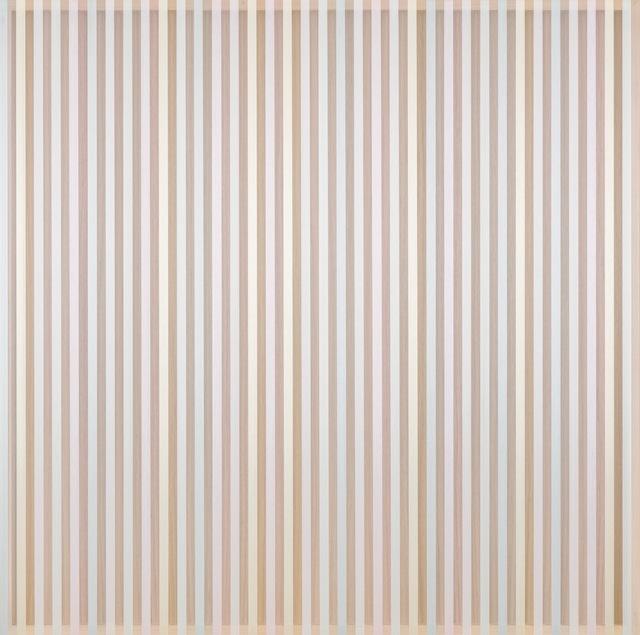 , 'Untitled (pastel hovering thread),' 2017, TOTAH