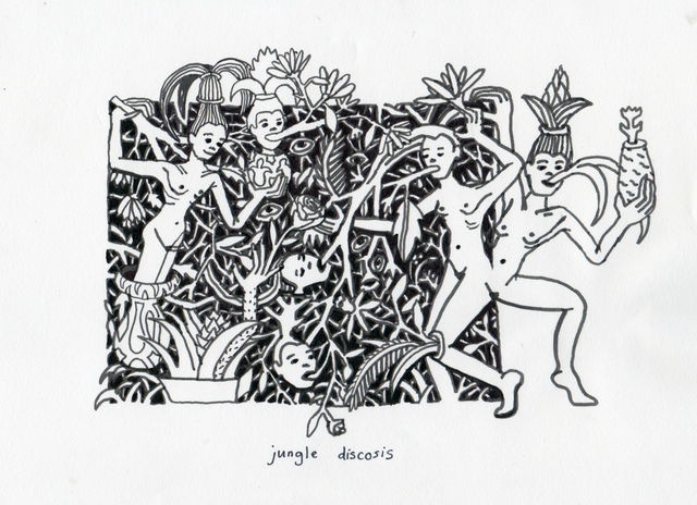 , 'Jungle Discosis,' 2015, Lychee One