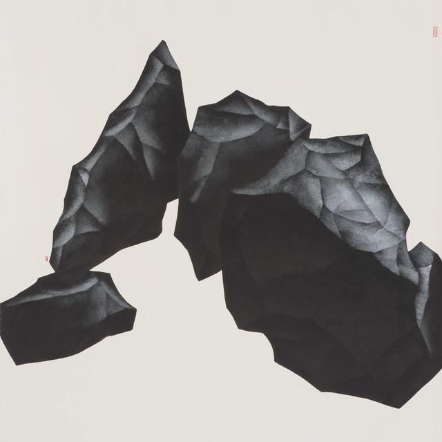 , '暗石疑藏虎,盤根似臥龍 Behind the Rock in Darkness A Tiger Probably Hides, The Giant Coiling Root Crouches Like A Dragon,' 2018, Pontone Gallery