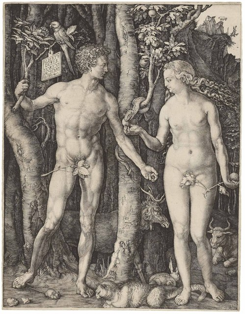 , 'Adam and Eve (B., M,. Holl. 1; S.M.S. 39),' 1504, Christie's Old Masters