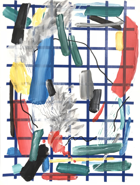 , 'Different Strokes #6,' 2018, Chan + Hori Contemporary