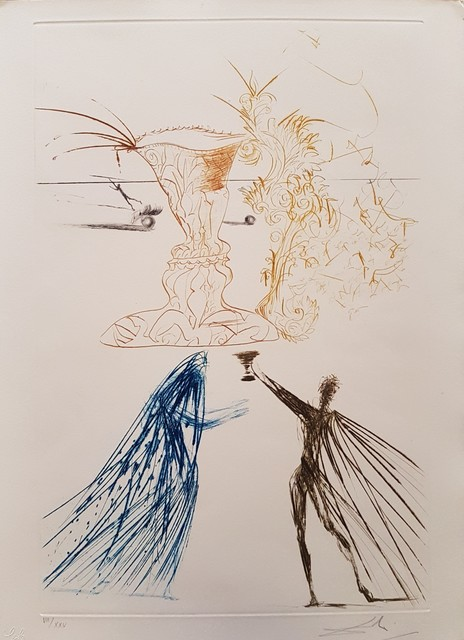 "Salvador Dalí, 'Illustration from ""Tristan and Isolde""', 1969, Wallector"