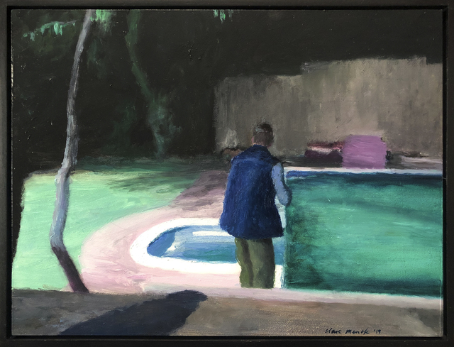 , 'Man from behind, with shadow,' 2019, 99 Loop Gallery