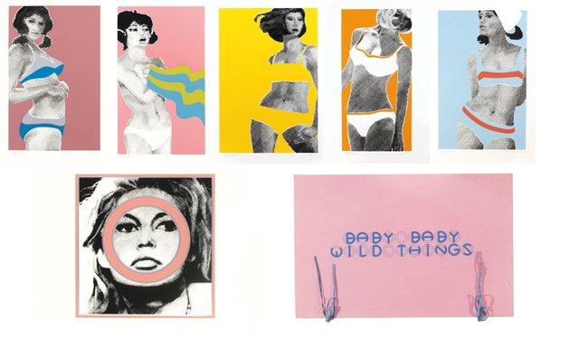 , 'Baby Baby Wild Things & Brigitte Bardot,' 1968, Lyndsey Ingram