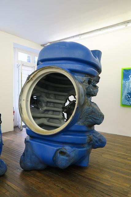 Anita Molinero, 'La Grosse Bleue V', 2017, Galerie Thomas Bernard