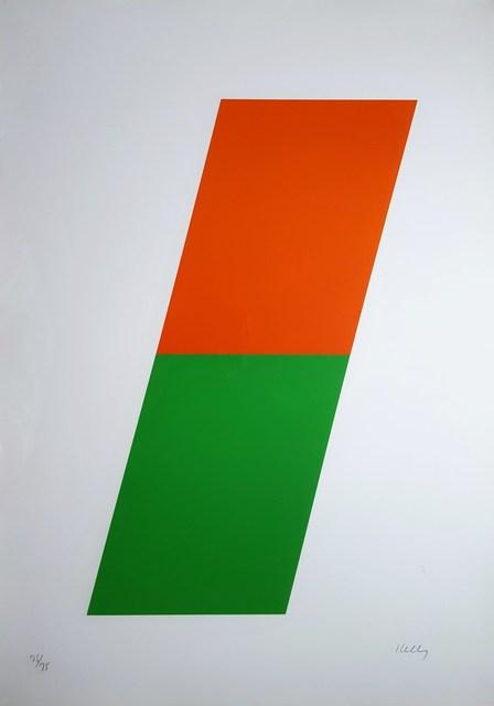 Ellsworth Kelly, 'Orange/Green', 1970, Print, Lithograph, Graves International Art