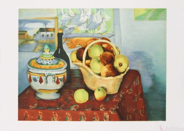Paul Cézanne, 'Still Life with Apples', 1970, ArtWise